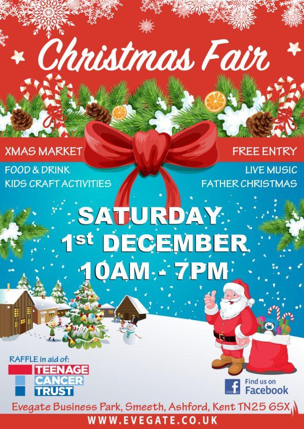 Christmas Fair – Saturday 1st December