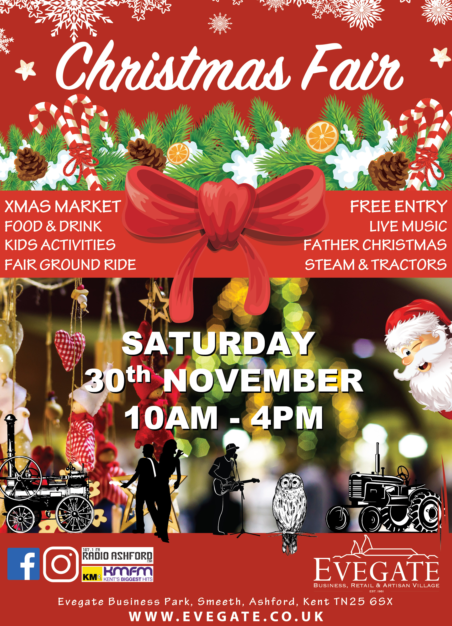Christmas Fair – Saturday 30th November 2019